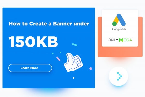 Create banner under 150 kb tips