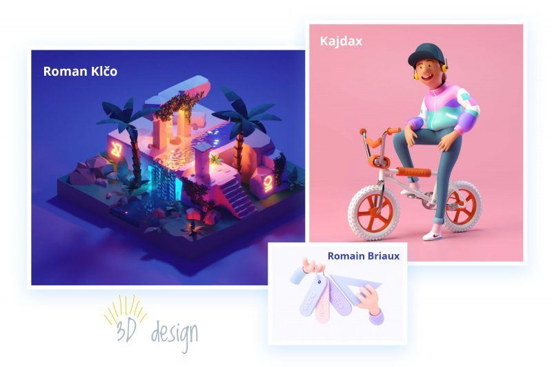 3d design trends 2019 Onlymega