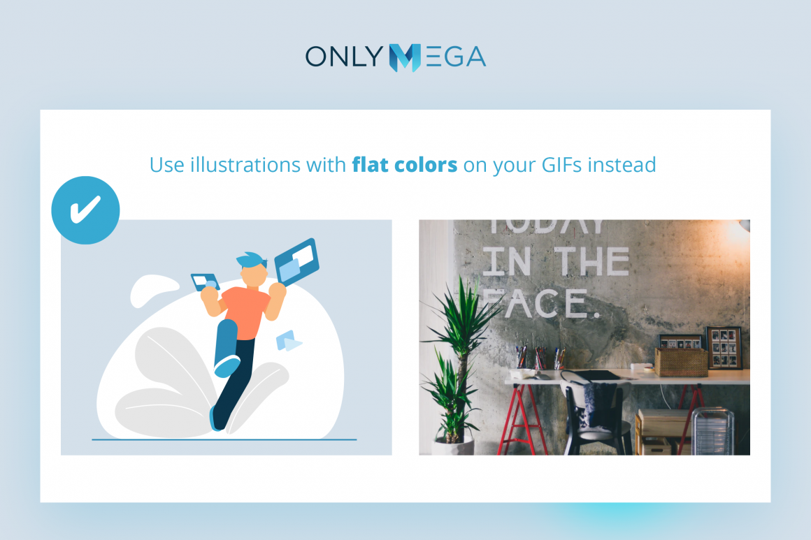 Gif Optimization tips from OnlyMega