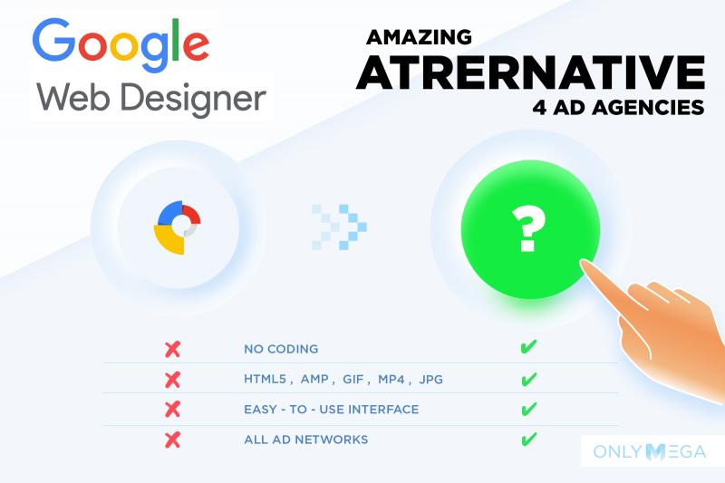 Amazing Google Web Designer Alternative for Ad Agencies OnlyMega